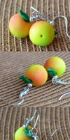 Apples earrings by Lovely-Ebru