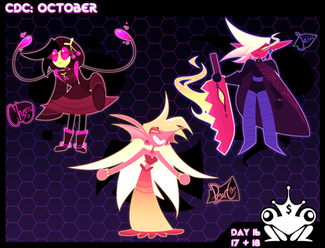 CDC: OCTOBER 2017 16 17 18 by frogtax
