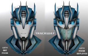 Transformers Prime Trackway by ElitaOneArts