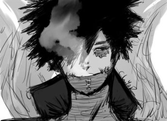 Dabi Boku No Hero by ChiyoR