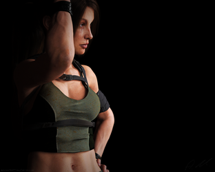Tomb Raider Underworld outfit Lara by ArtiMuller
