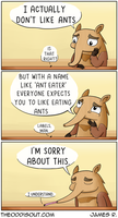 Anteater by theodd1soutcomic