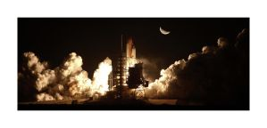 Liftoff, STS-130 'Revised' by OpticaLLightspeed