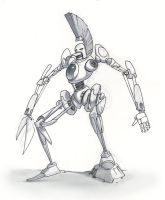That Robot from the future by danimation2001