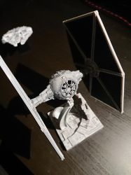 TIE Fighter - Bandai model (1) by Drazeree