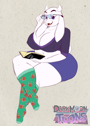 Weekly Sketch (37/52): Toriel by BluMoonToons