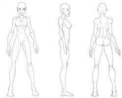 Female Figure 360 by Nycteridae