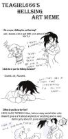 Hellsing art meme by Claudia-C18