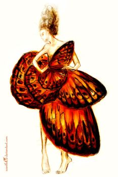 Madame Butterfly by ScartletV