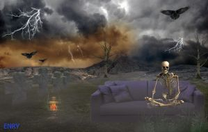 Skeleton  in Relax by anirico