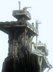 Abandoned Combine Fortress by Vioxtar