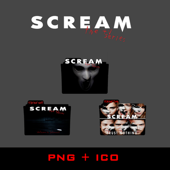 Scream the TV Series Folder Icons by DAWNMACCULLAND