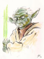 Yoda by MikimusPrime