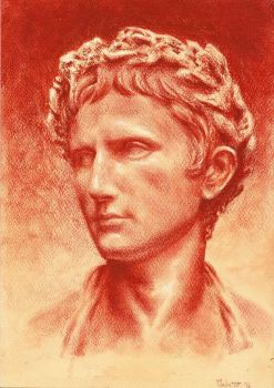 Portrait of Augustus by CaesarAnto