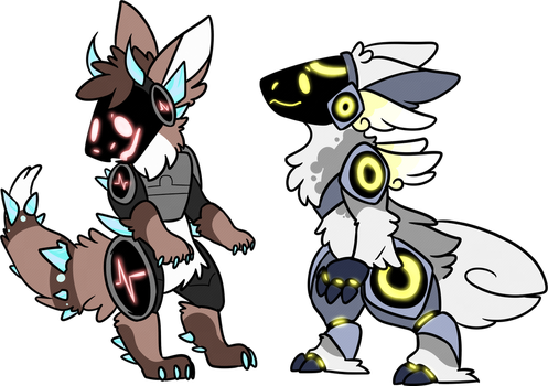 PROTOGEN ADOPTABLES - CLOSED! by jigsocks