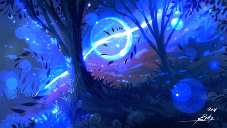 Mystical Forest by ryky
