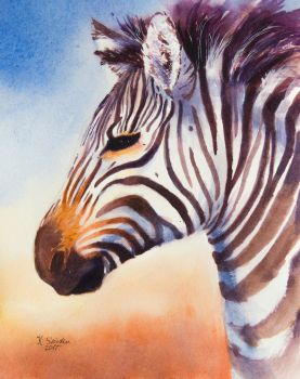 Card 2 Zebra by EarlyOctober