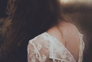 She is dead but lately started to blossom. by laura-makabresku