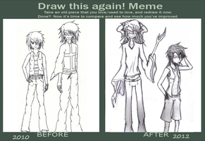 Draw it Again Meme by red-stained-december