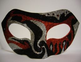 Death ~ Masquerade Mask by SapphireSoul102