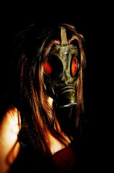 Gas Mask 5 by JDSPhotography