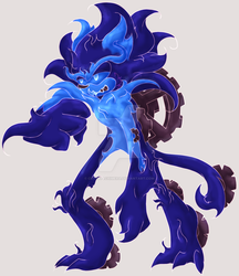 Time Eater Sonic Concept by CrystalChimera