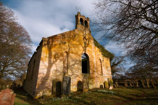 Northumberland Church Ruins by newcastlemale