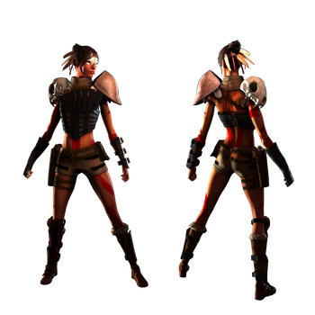 Character Costume - Tribal by musegames