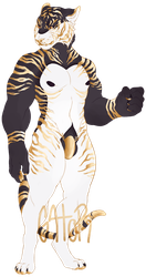 gilded tiger - SOLD by gatorstooth