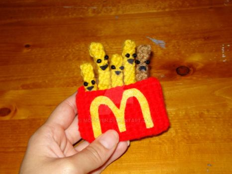 Happy Pack of French Fries by MoonYen