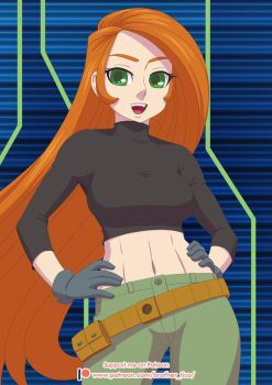 Patreon FAOTM Kim Possible versionA by Brother-Tico