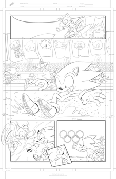 IDW Tryout page 1 by Gigi-D