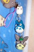 My Neighbor Totoro and Friends Charm by FatCatCharms