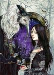 The Dark Queen illustration for miNatura by Hollow-Moon-Art