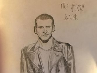 The Ninth Doctor by J-Edgar-Pinkerton