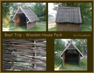 Boat Trip - Wooden House Pack by Gwathiell