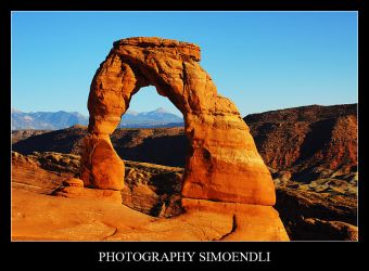 Delicate Arch by simoendli
