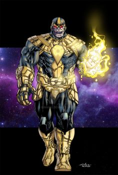 Sinsetros Corps Thanos colored by ginmau