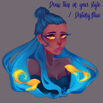 Draw this in your style | DestinyBlue by InvisibleKing