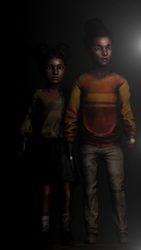 Michonne daughters by fodrom