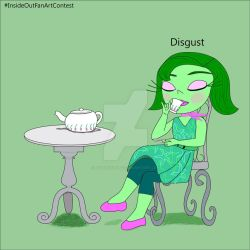 Disgust - Inside Out by HazelRose3637