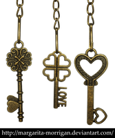 Keys from the heart by margarita-morrigan
