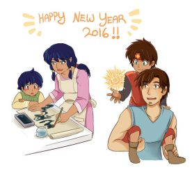 Happy New Year2016 by Joichiroll