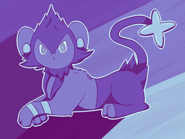 100 Palette Challenge - Luxio by CrystalTheLuxio