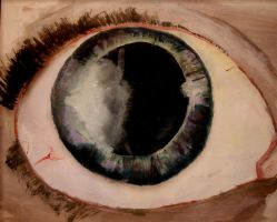 Study of my Eye by GaryCrimson