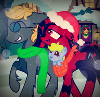 ''Walkin' in a Winter Wonderland...'' by SummerSketch-MLP