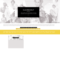 CLAIREHOLT |Ordered Layout by lenkamason