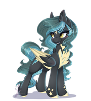 Shimmer Starfall by Silent-Shadow-Wolf