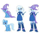 Mlp equestria girls trixie by mlps112