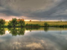 Lake II HDR by DrDra by Ro-nature